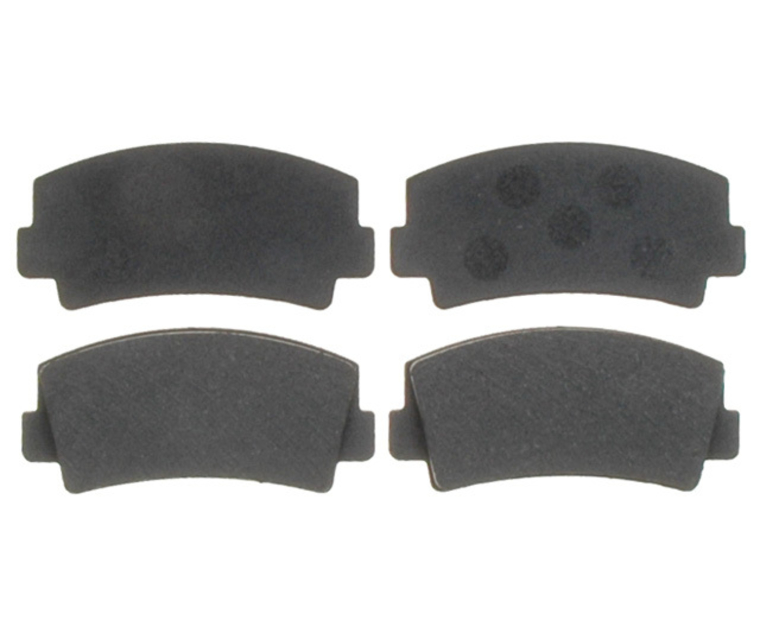 RAYBESTOS - PG Plus Organic Disc Brake Pad (Front) - RAY PGD76