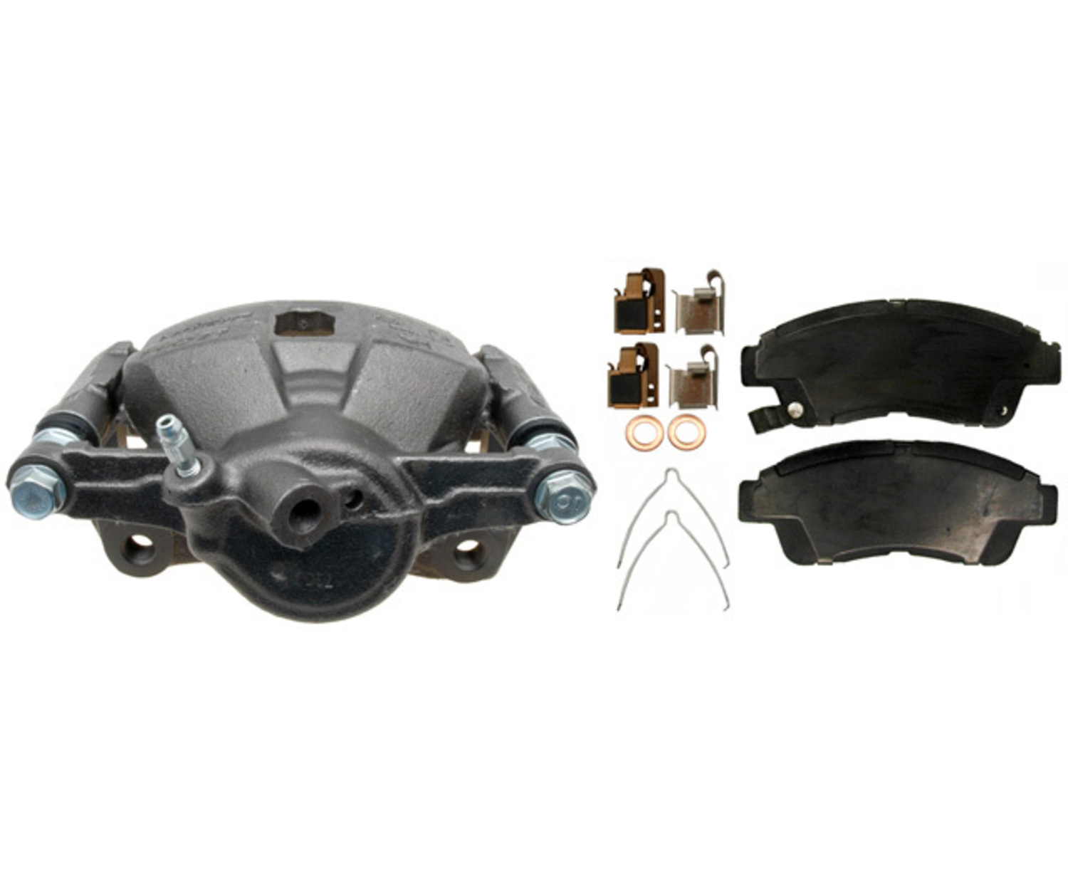 RAYBESTOS - R-Line; Loaded Caliper, Remanufactured; Includes Bracket - RAY RC10429