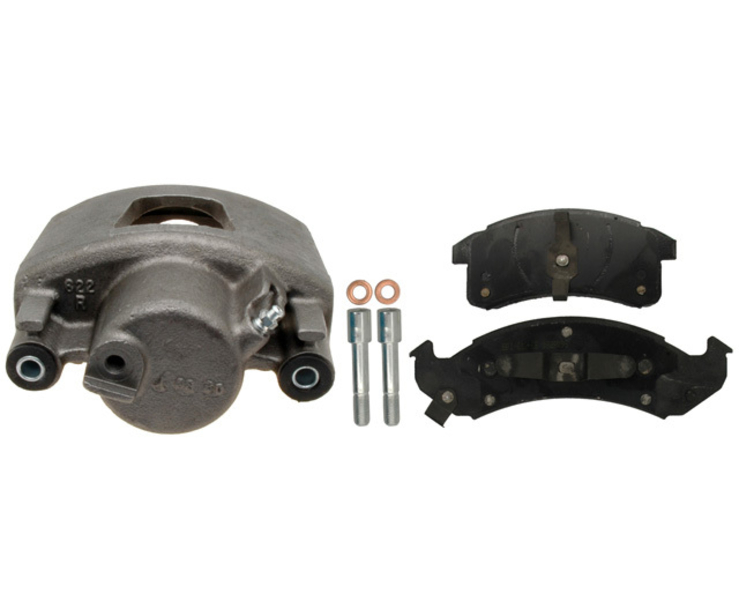 RAYBESTOS - R-Line; Loaded Caliper, Remanufactured - RAY RC10496