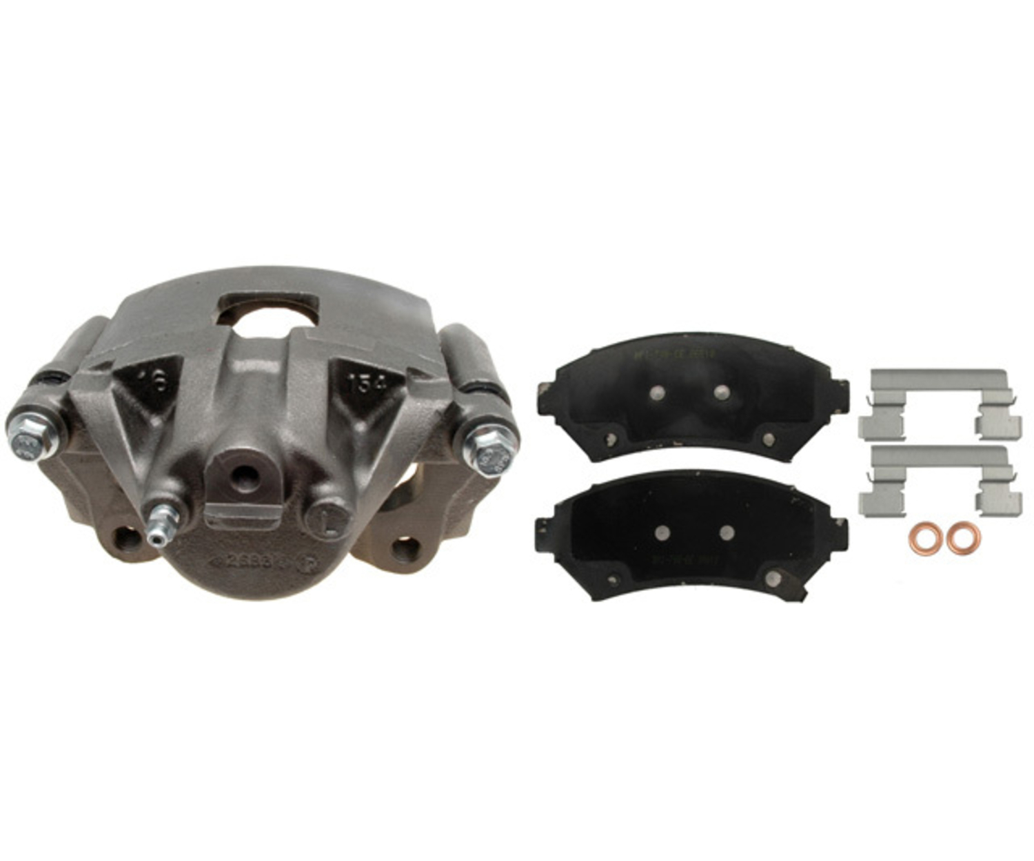 RAYBESTOS - R-Line; Loaded Caliper, Remanufactured; Includes Bracket - RAY RC10839