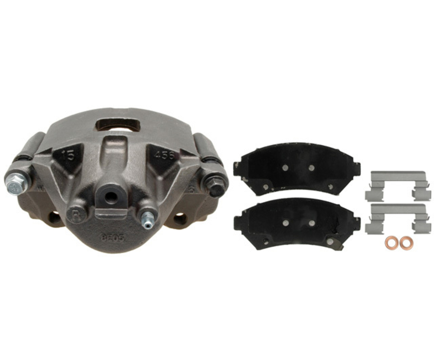 RAYBESTOS - R-Line Reman Loaded Caliper w/Bracket (Front Right) - RAY RC10908