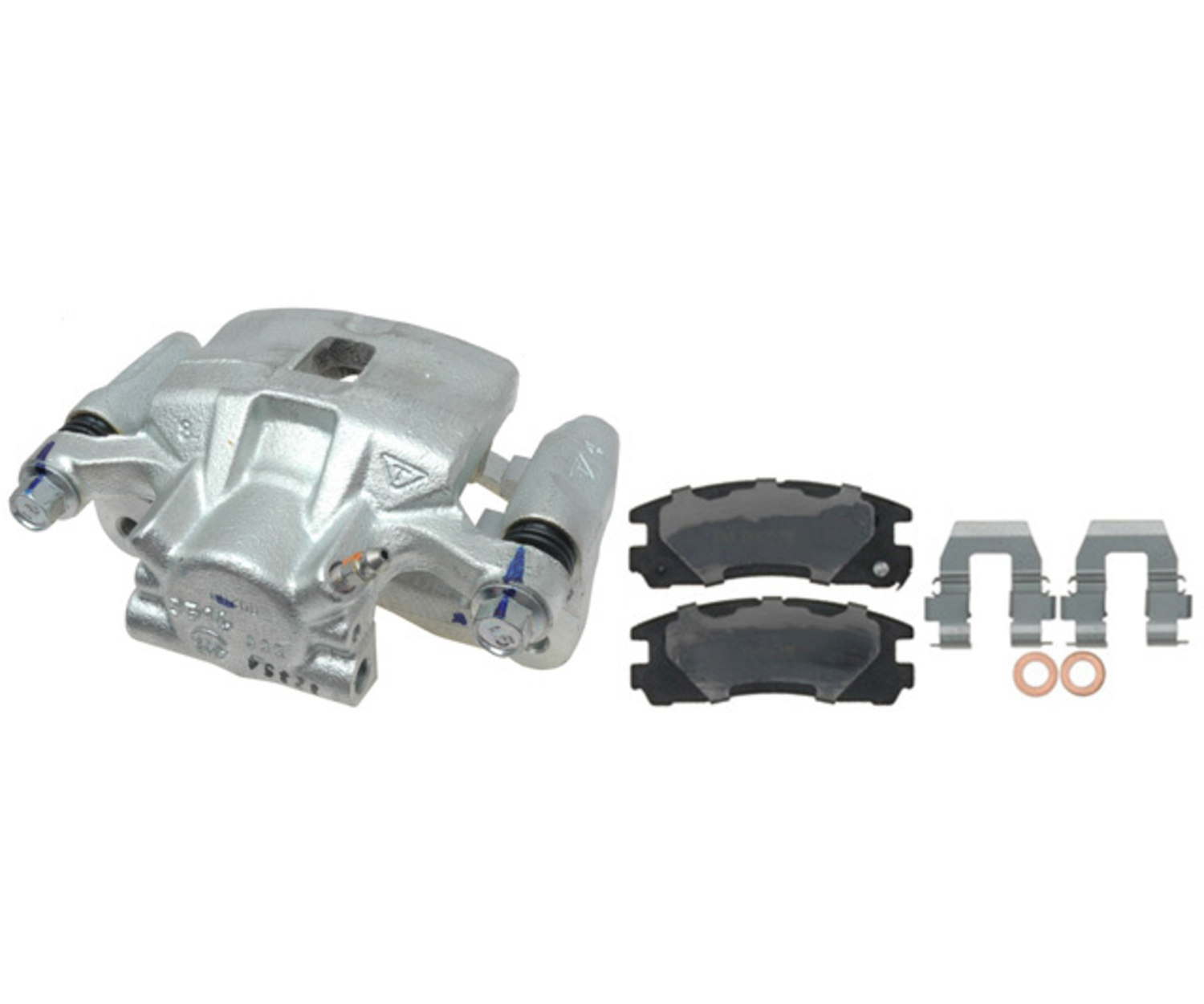 RAYBESTOS - R-Line; Loaded Caliper, Remanufactured; Includes Bracket (Rear Left) - RAY RC12154
