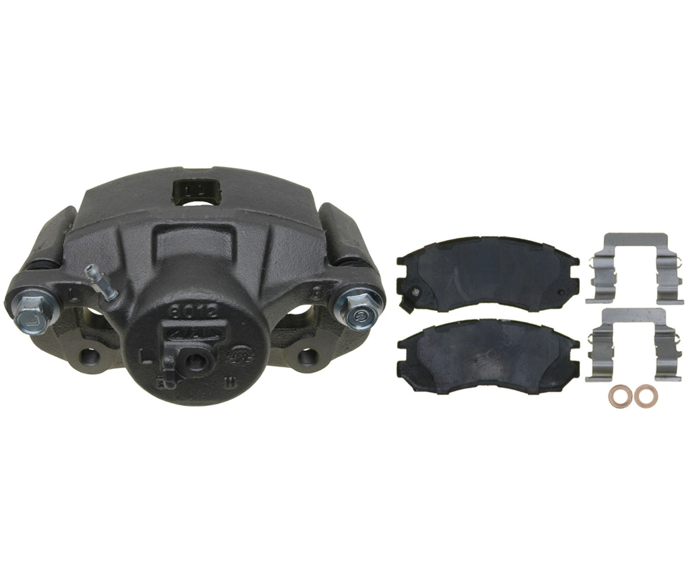 RAYBESTOS - R-Line; Loaded Caliper, Remanufactured; Includes Bracket (Front Left) - RAY RC12189