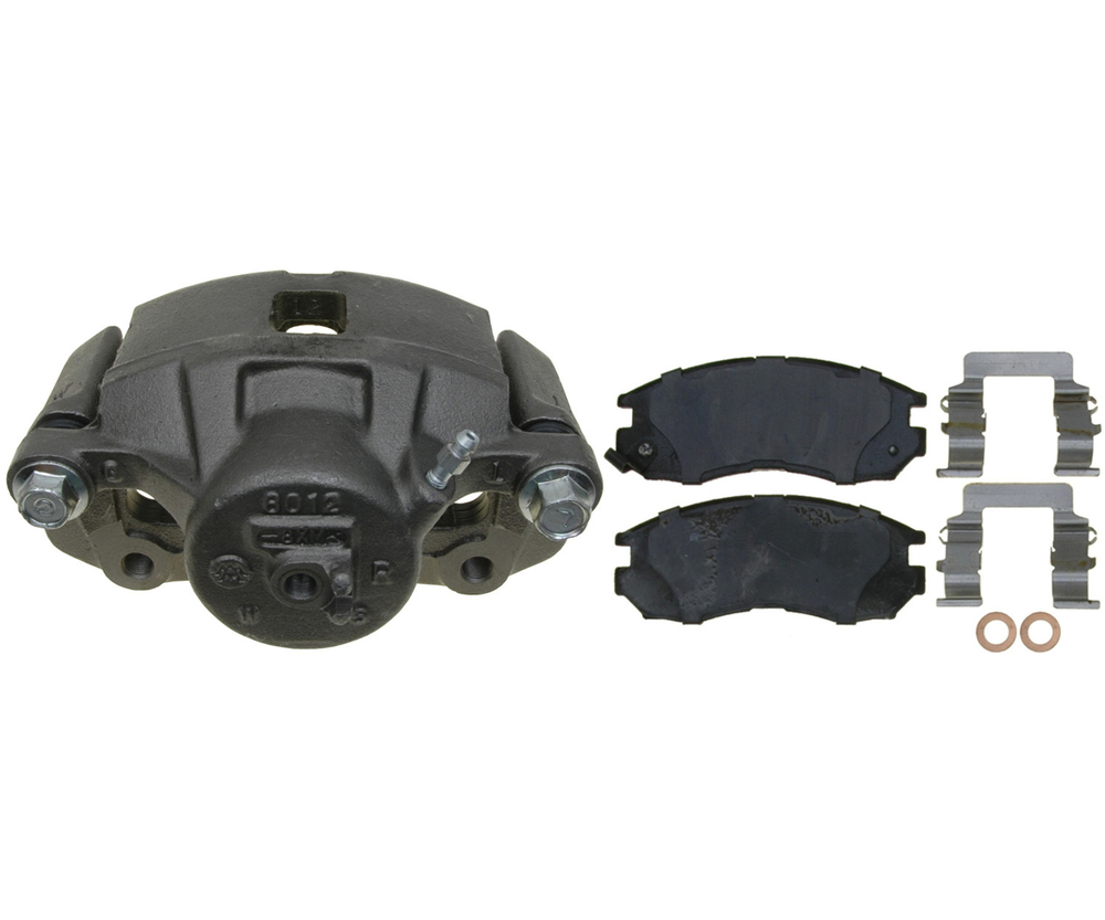 RAYBESTOS - R-Line; Loaded Caliper, Remanufactured; Includes Bracket (Front Right) - RAY RC12190