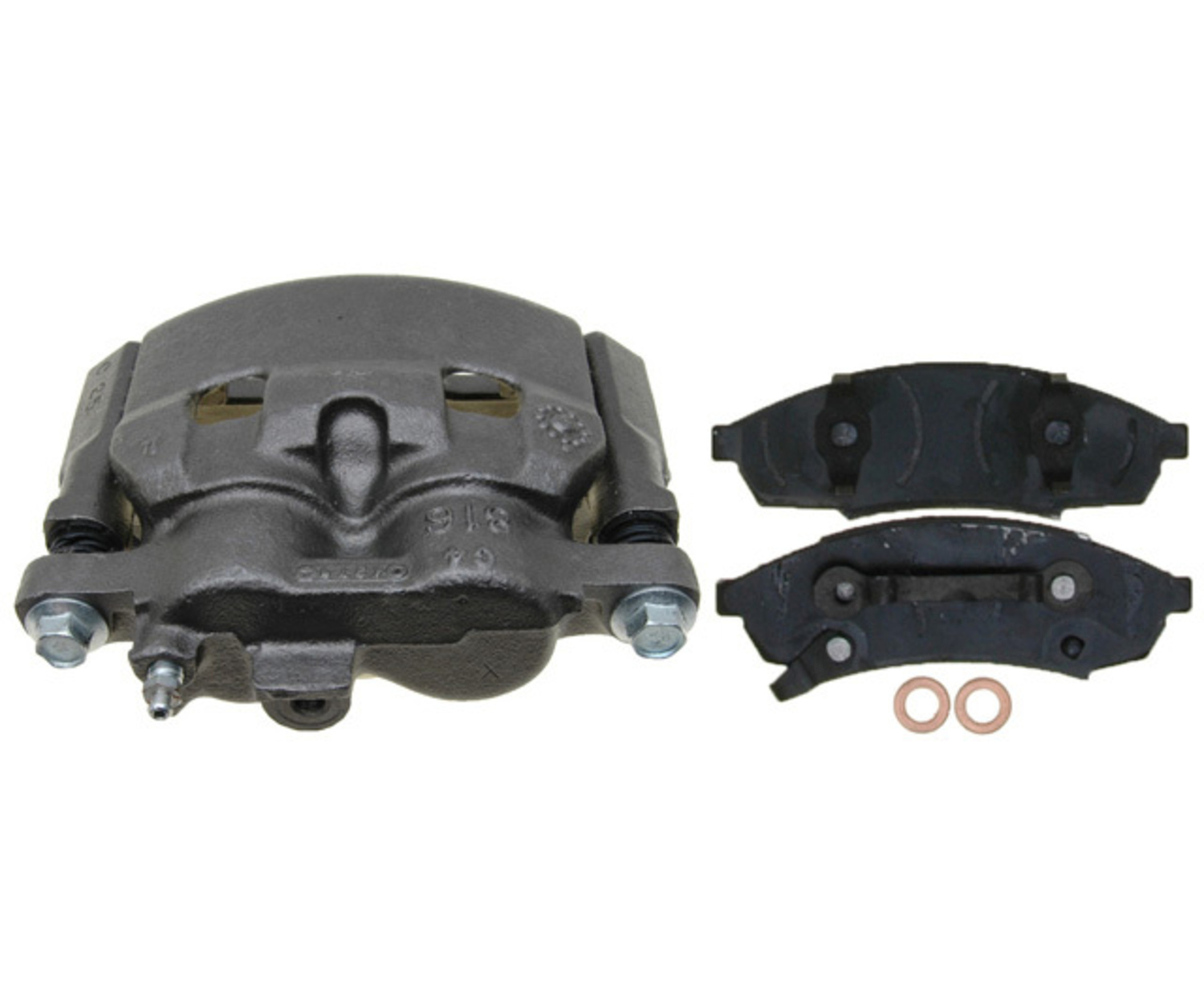 RAYBESTOS - R-Line; Loaded Caliper, Remanufactured; Includes Bracket - RAY RC12191