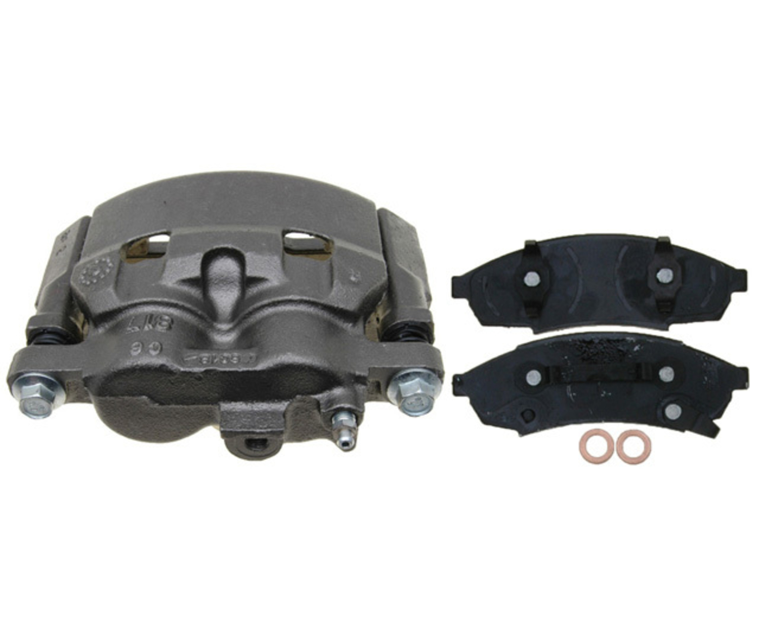 RAYBESTOS - R-Line; Loaded Caliper, Remanufactured; Includes Bracket - RAY RC12192