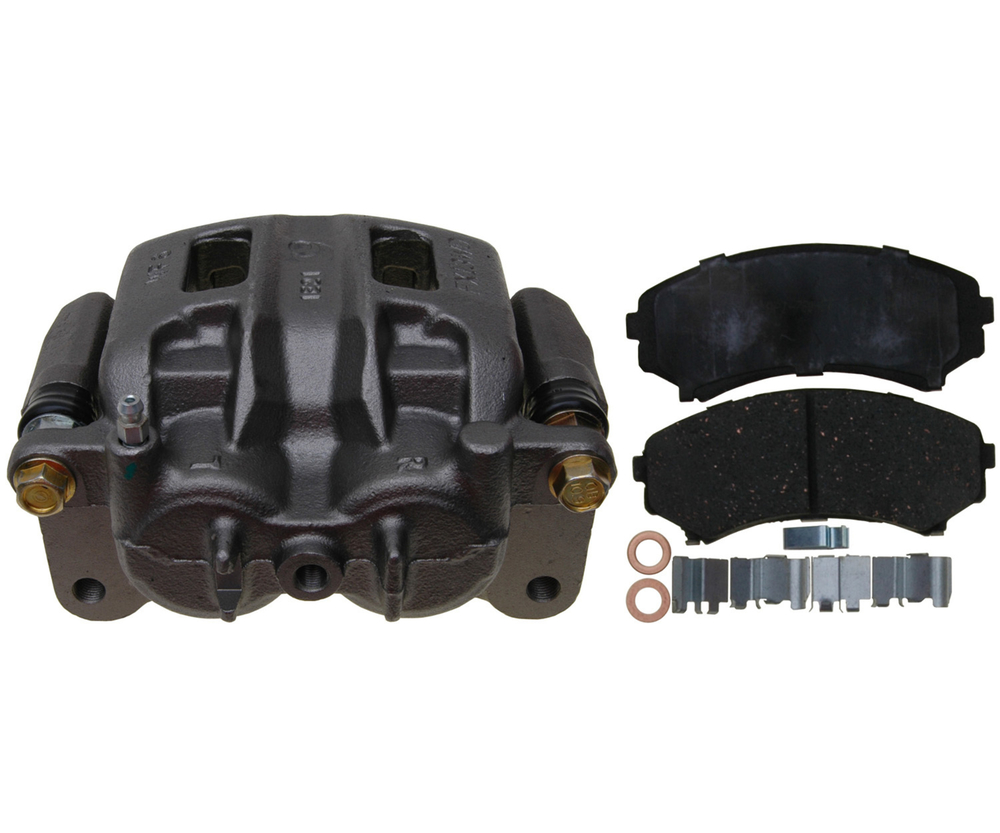 RAYBESTOS - R-Line; Loaded Caliper, Remanufactured; Includes Bracket (Front Left) - RAY RC12307