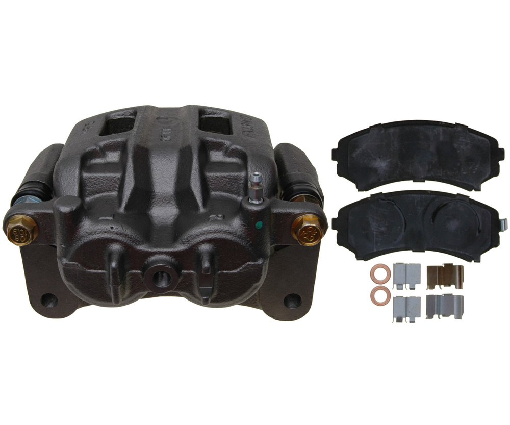 RAYBESTOS - R-Line; Loaded Caliper, Remanufactured; Includes Bracket (Front Right) - RAY RC12308