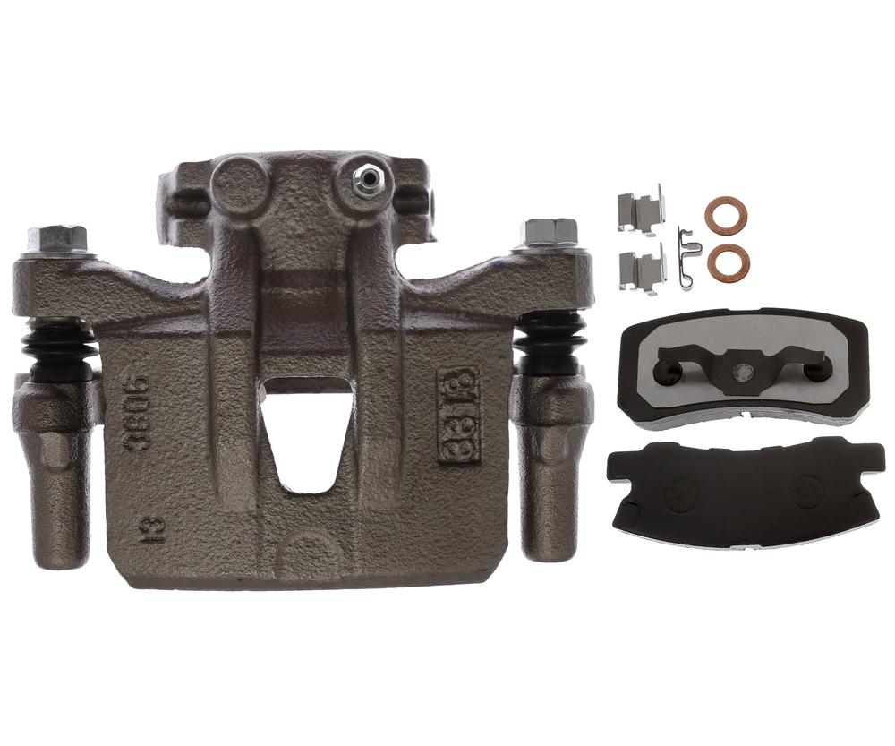 RAYBESTOS - R-Line; Loaded Caliper, Remanufactured; Includes Bracket (Rear Right) - RAY RC12643