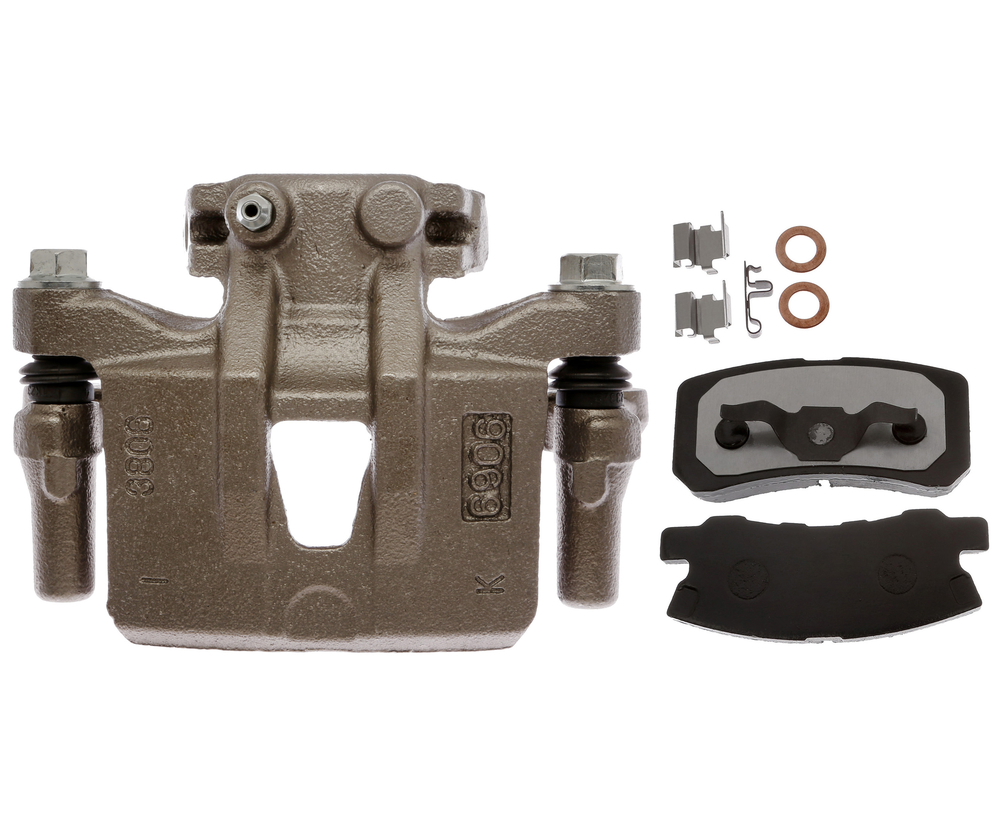 RAYBESTOS - R-Line; Loaded Caliper, Remanufactured; Includes Bracket (Rear Left) - RAY RC12644