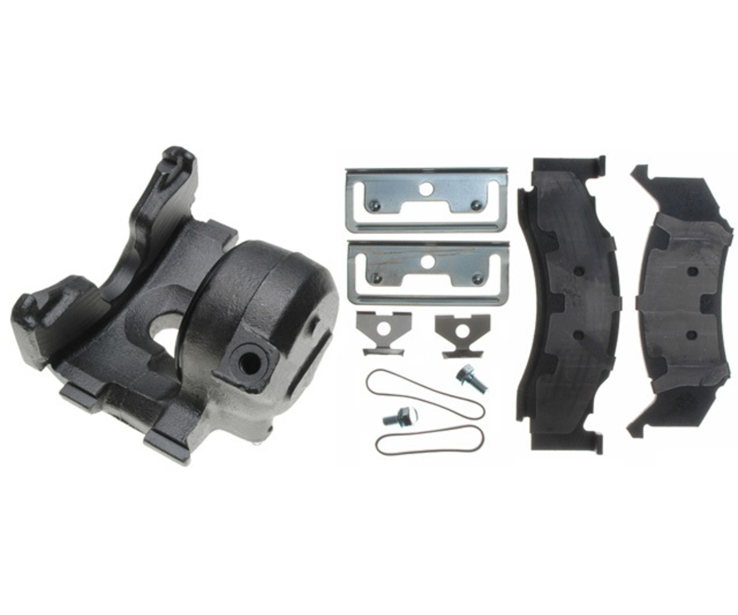 RAYBESTOS - R-Line; Loaded Caliper, Remanufactured - RAY RC4312