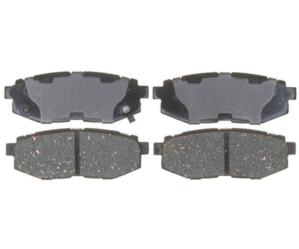 RAYBESTOS - Service Grade; Ceramic Disc Brake Pad Set (Rear) - RAY SGD1124C