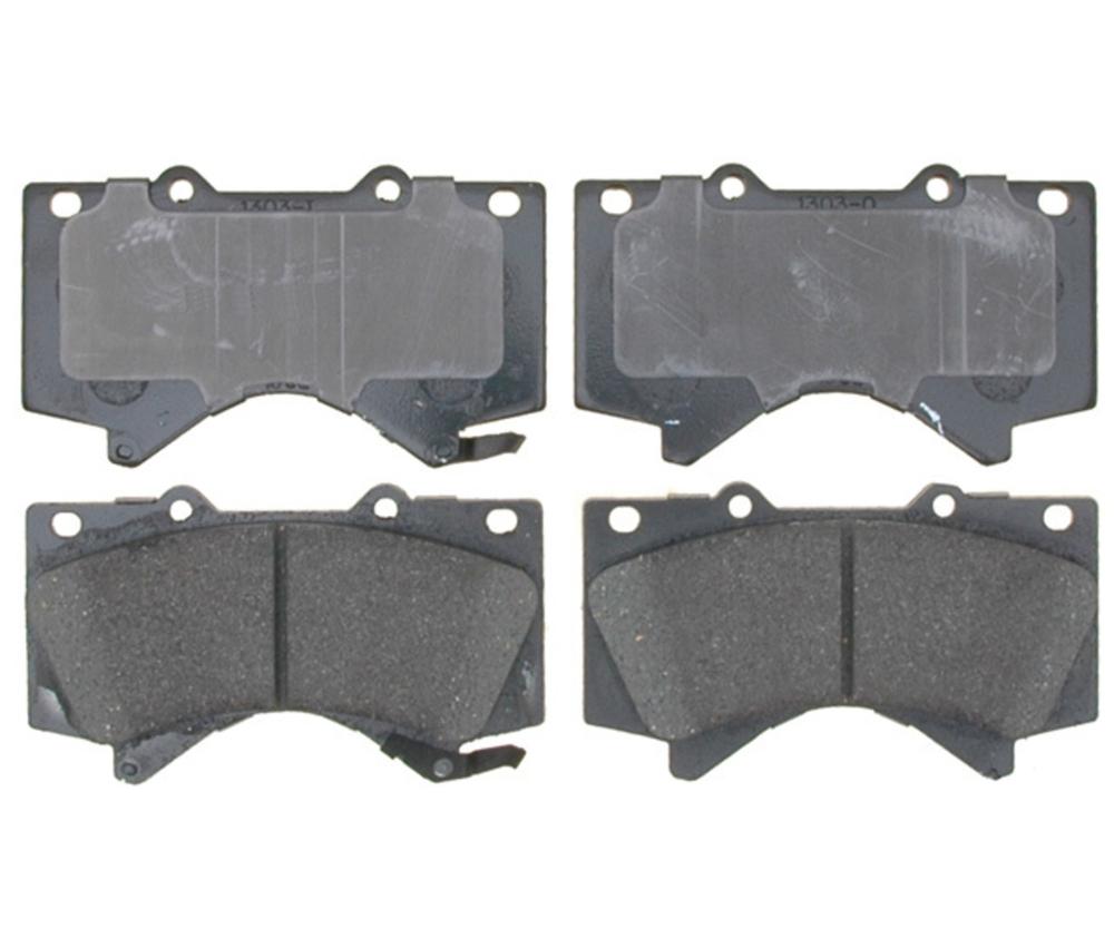 RAYBESTOS - Service Grade; Ceramic Disc Brake Pad Set (Front) - RAY SGD1303C