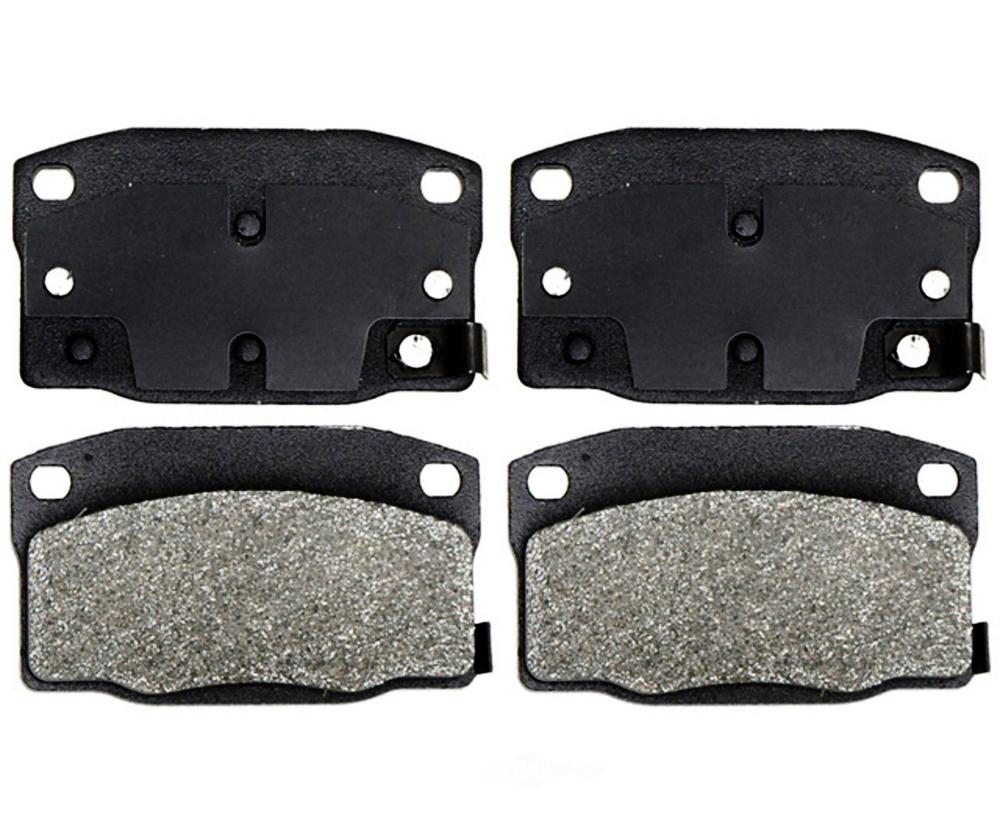 RAYBESTOS - Service Grade Metallic Disc Brake Pad (Front) - RAY SGD378M