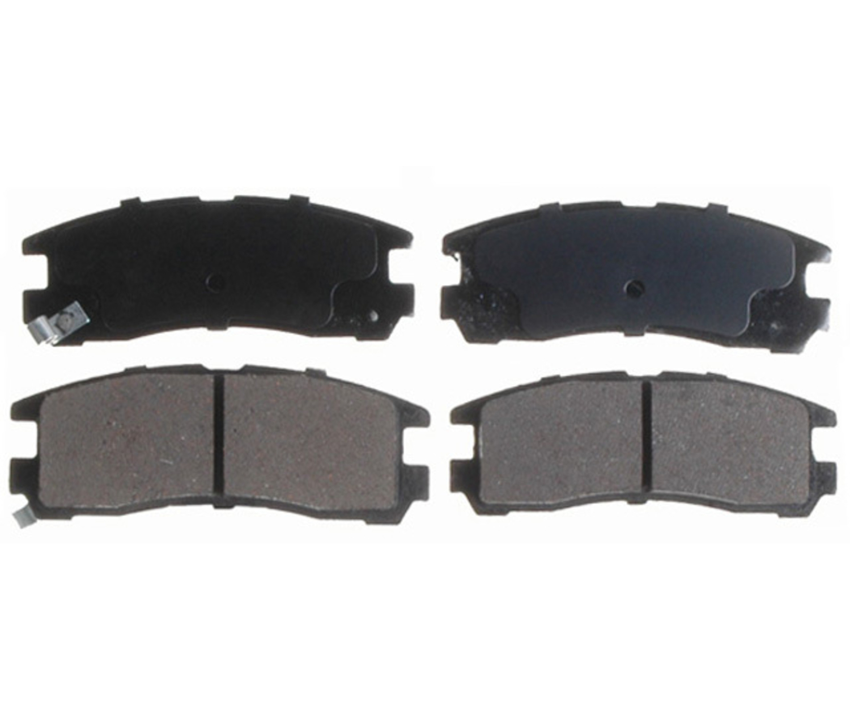RAYBESTOS - Service Grade; Ceramic Disc Brake Pad Set (Rear) - RAY SGD383C