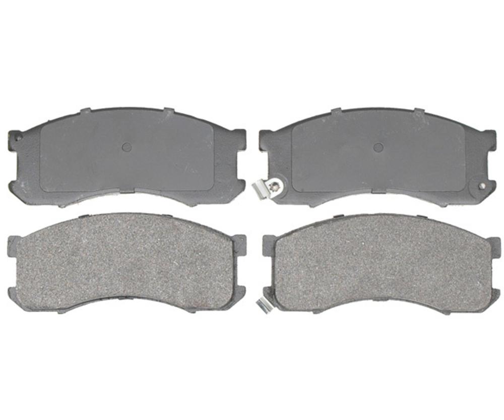 RAYBESTOS - Service Grade Metallic Disc Brake Pad (Front) - RAY SGD428M