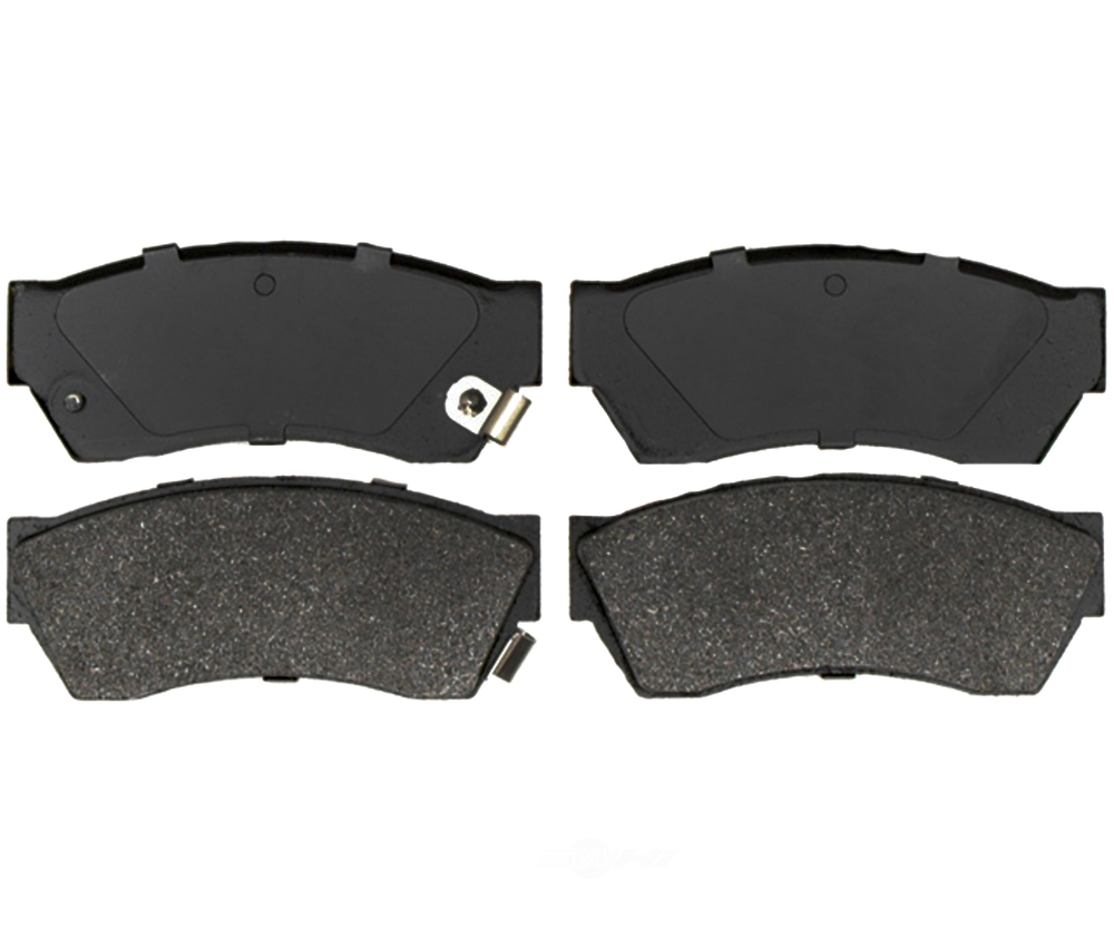 RAYBESTOS - Service Grade Metallic Disc Brake Pad (Front) - RAY SGD451M