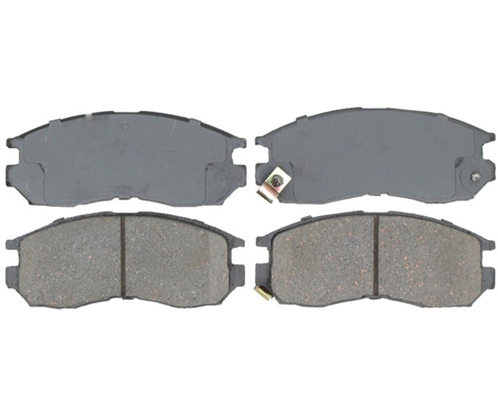 RAYBESTOS - Service Grade; Ceramic Disc Brake Pad Set (Front) - RAY SGD484C