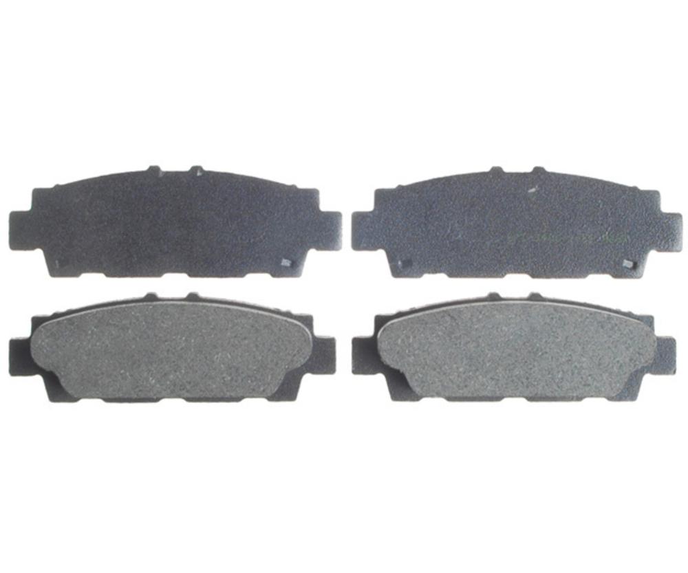 RAYBESTOS - Service Grade; Organic Disc Brake Pad Set (Rear) - RAY SGD488