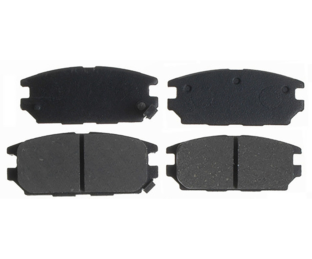 RAYBESTOS - Service Grade; Ceramic Disc Brake Pad Set (Rear) - RAY SGD532C