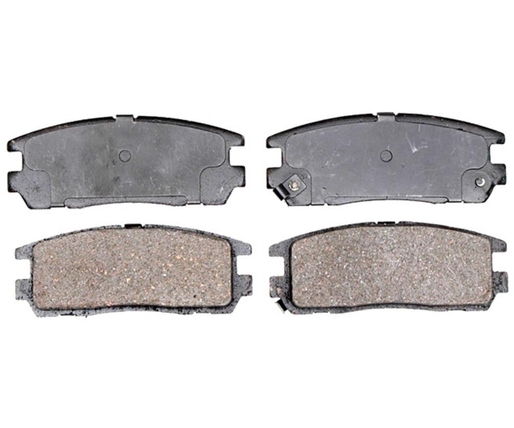 RAYBESTOS - Service Grade; Ceramic Disc Brake Pad Set (Rear) - RAY SGD580C