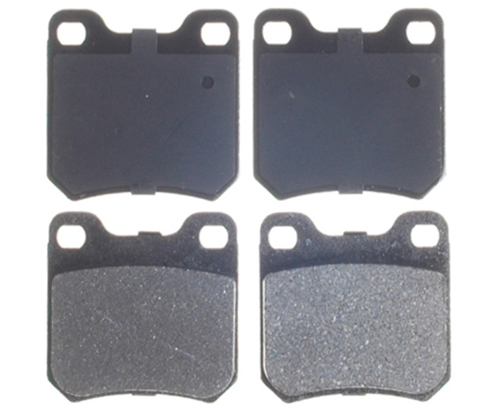 RAYBESTOS - Service Grade Metallic Disc Brake Pad (Rear) - RAY SGD709AM