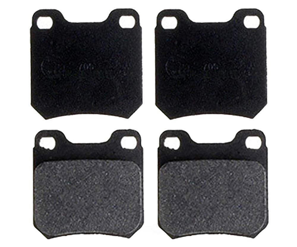 RAYBESTOS - Service Grade; Metallic Disc Brake Pad Set (Rear) - RAY SGD709M