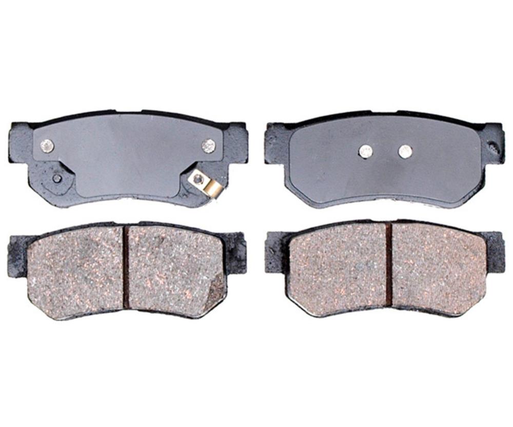 RAYBESTOS - Service Grade; Ceramic Disc Brake Pad Set (Rear) - RAY SGD813C
