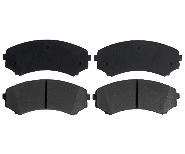 RAYBESTOS - Service Grade; Ceramic Disc Brake Pad Set (Front) - RAY SGD867C