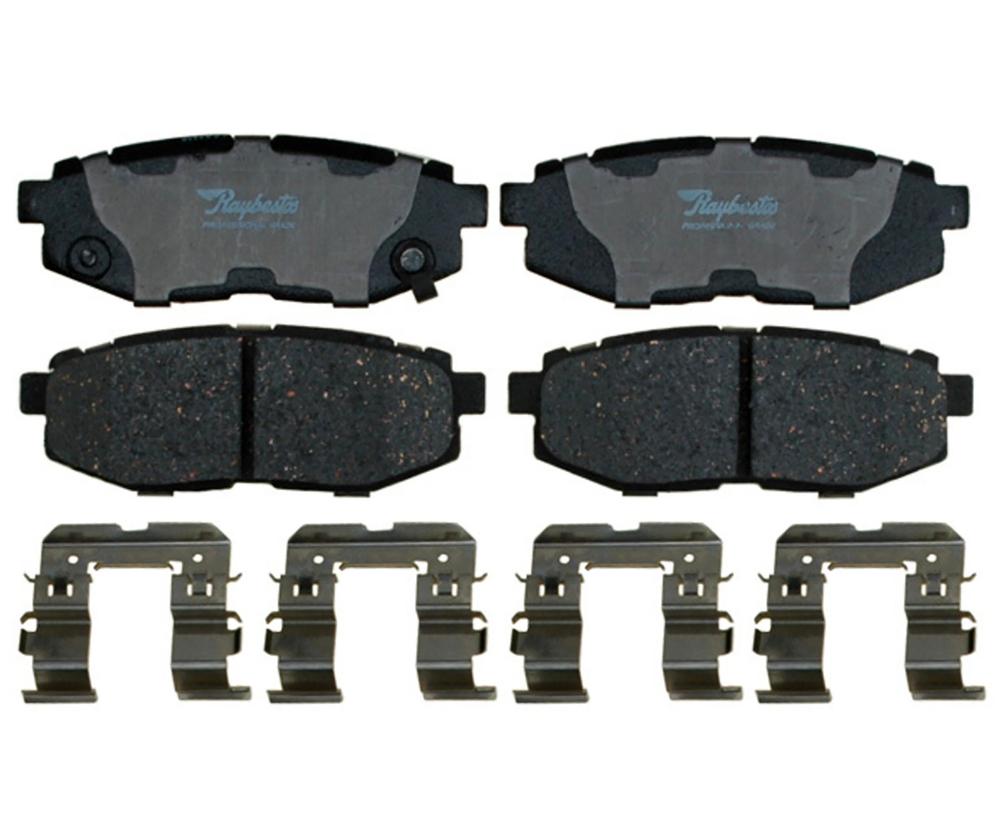 RAYBESTOS - Specialty - Street Performance; Metallic Disc Brake Pad Set (Rear) - RAY SP1124XPH