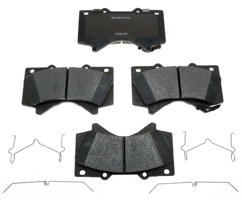 RAYBESTOS - Specialty - Truck; Ceramic Disc Brake Pad Set (Front) - RAY SP1303TRH