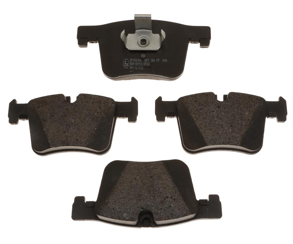 RAYBESTOS - Specialty European Metallic Disc Brake Pad (Front) - RAY SP1561EU