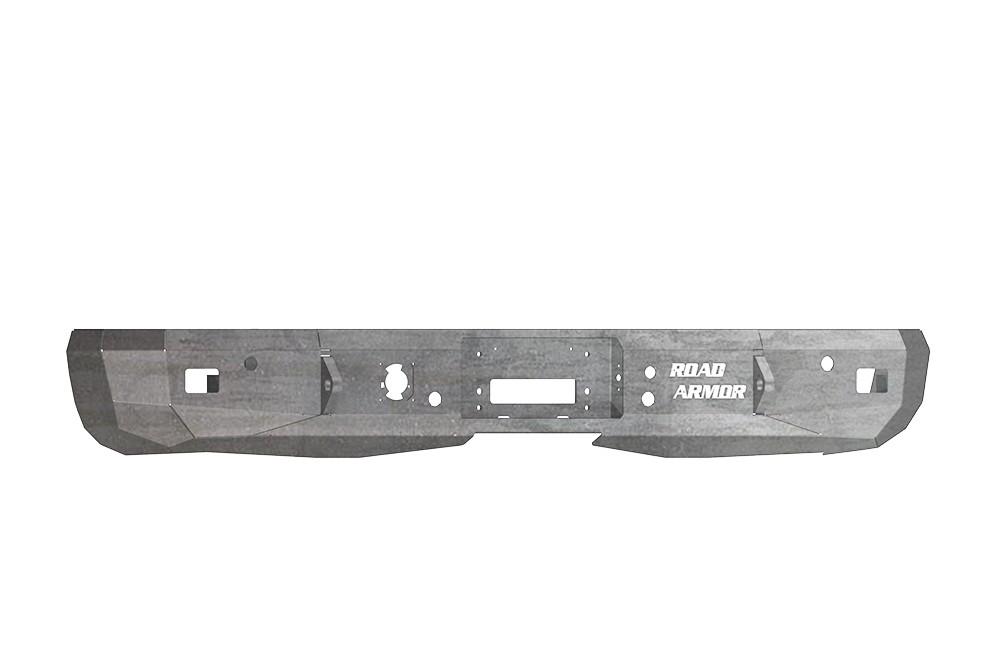ROAD ARMOR - Chevy/GMC Rear Stealth Winch Bumper Raw (Rear) - RDA 38500Z