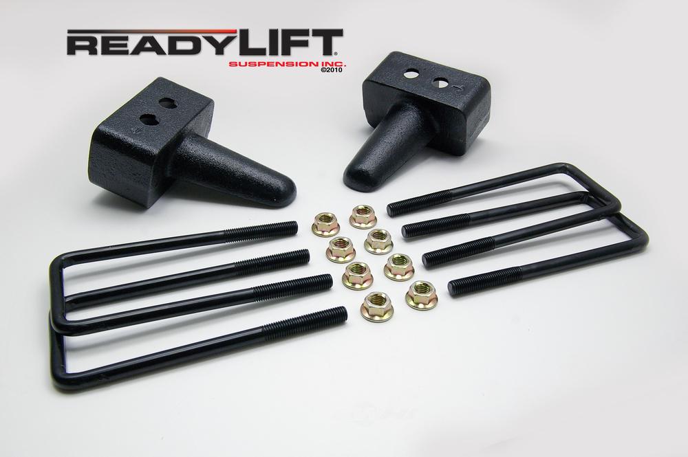 READY LIFT - 3.0 in. Leaf Spring Axle U-Bolt Kit (Rear) - RLT 66-2053