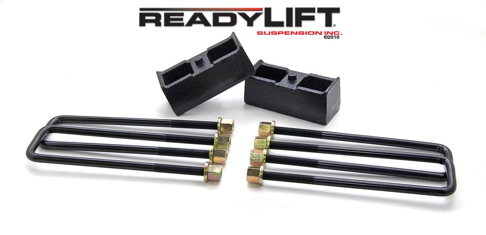 READY LIFT - 2.25 in. Leaf Spring Axle U-Bolt Kit (Rear) - RLT 66-3002