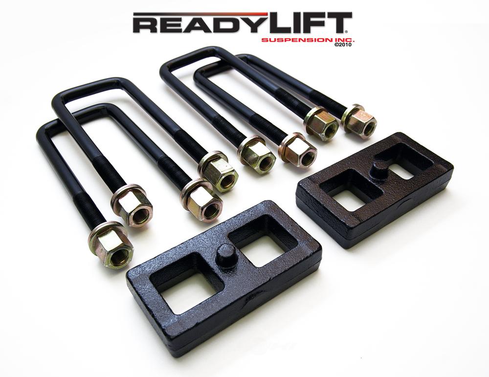 READY LIFT - 1.0 in. Leaf Spring Axle U-Bolt Kit (Rear) - RLT 66-3051