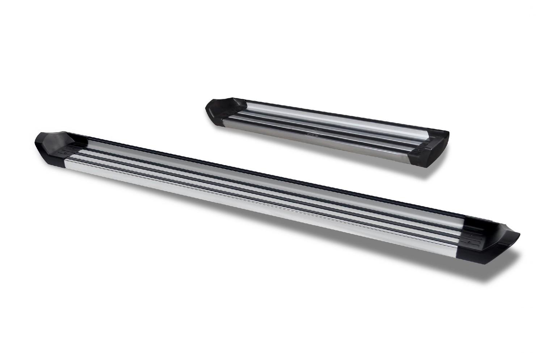 ROMIK - Sprinter Running Boards 07-18 Mercedes Benz Sprinter Silver RCV Series - RMK 77001418