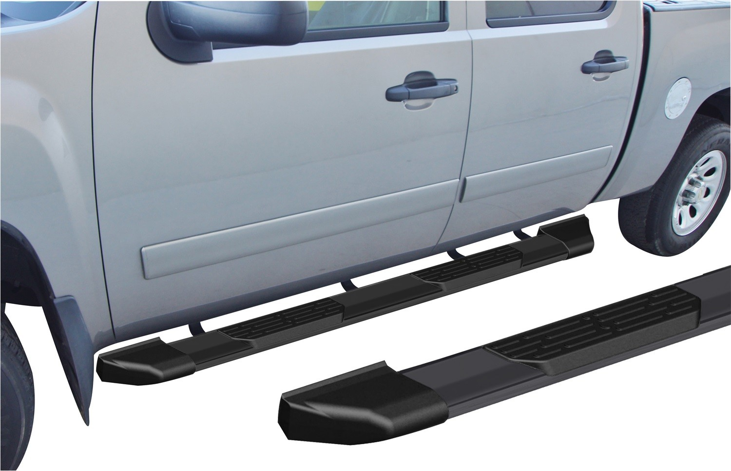 RAMPAGE PRODUCTS - Xtremeline 6 in. Oval Cab Length Running Board - RMP 16170