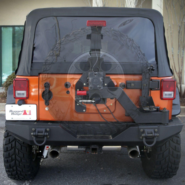 RUGGED RIDGE - Xtreme Heavy Duty Tire Carrier Rear - RUG 11546.25