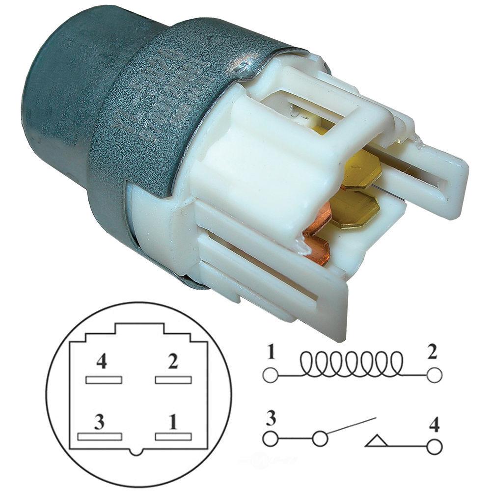 SANTECH INDUSTRIES - A\/C Condenser Fan Motor Relay - SAN MT0221