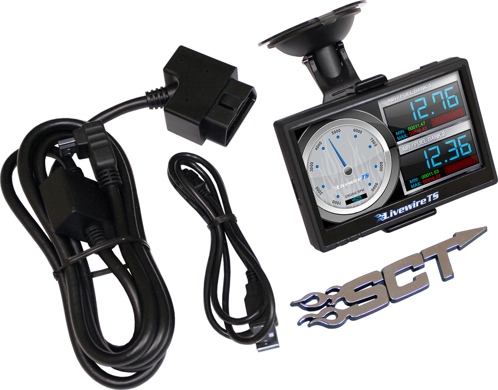 SCT PERFORMANCE - Livewire TS Performance Programmer and Monitor for GM Vehicles - SCE 5416P