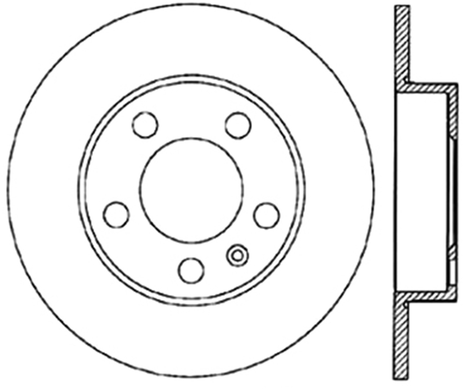 STOPTECH - High Carbon Alloy Cryo Treated Disc (Rear) - SOH 125.33057CRY