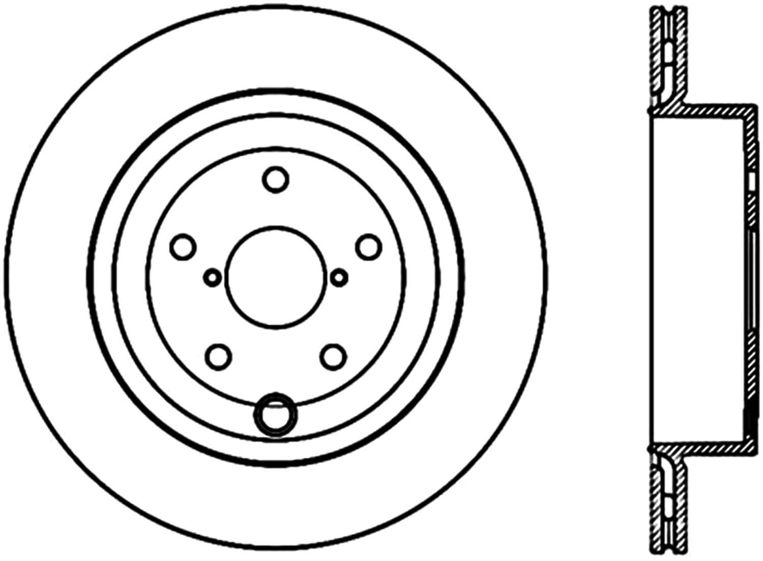 STOPTECH - StopTech High Carbon Alloy Cryo-Treated Disc Brake Rotors (Rear) - SOH 125.47030CRY