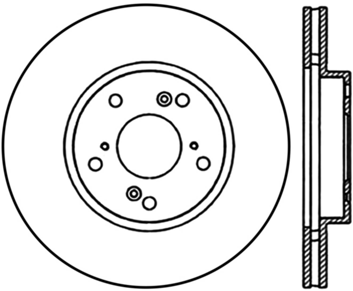 STOPTECH - StopTech Sport Cryo-Treated Slotted Disc Brake Rotors (Front Left) - SOH 126.40036CSL