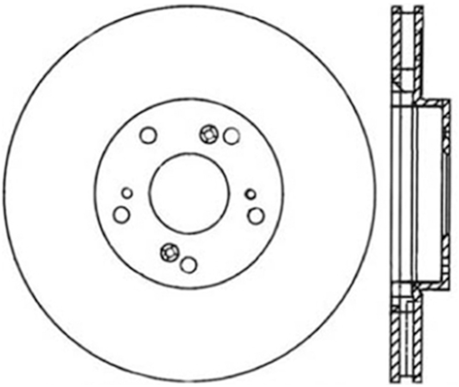 STOPTECH - StopTech Sport Cryo-Treated Slotted Disc Brake Rotors (Front Left) - SOH 126.40057CSL
