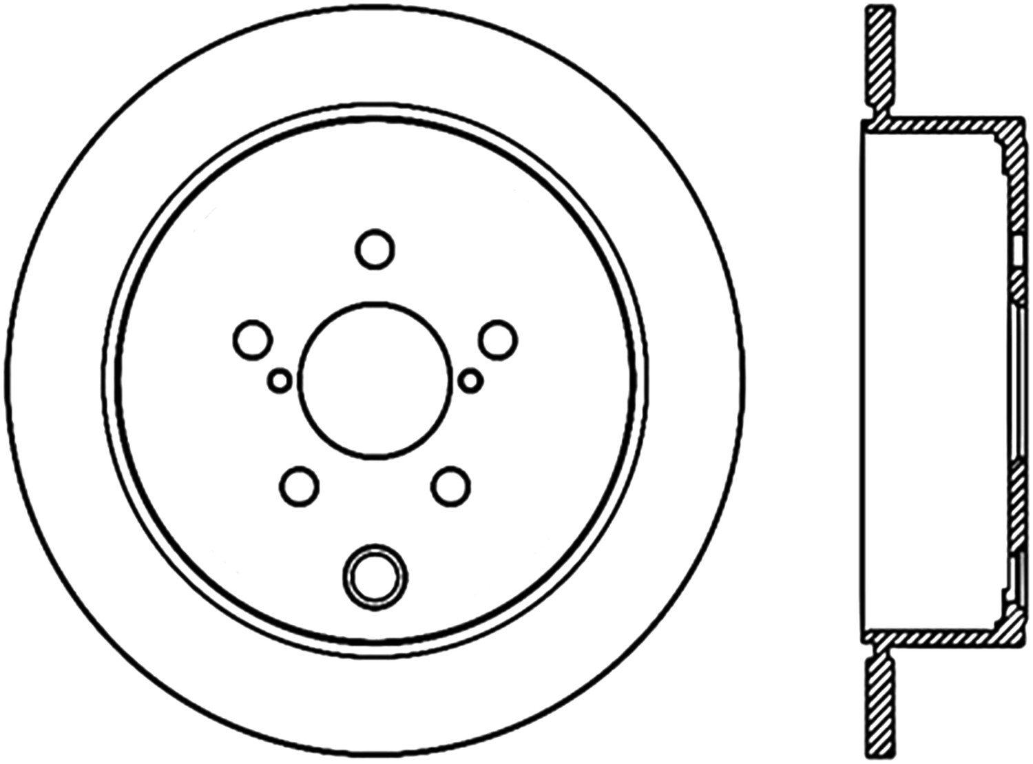 STOPTECH - StopTech Sport Cryo-Treated Slotted Disc Brake Rotors (Rear Left) - SOH 126.47029CSL