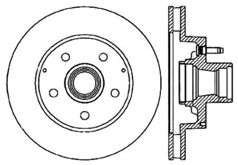 STOPTECH - StopTech Sport Slotted Brake Disc (Front Right) - SOH 126.66029SR