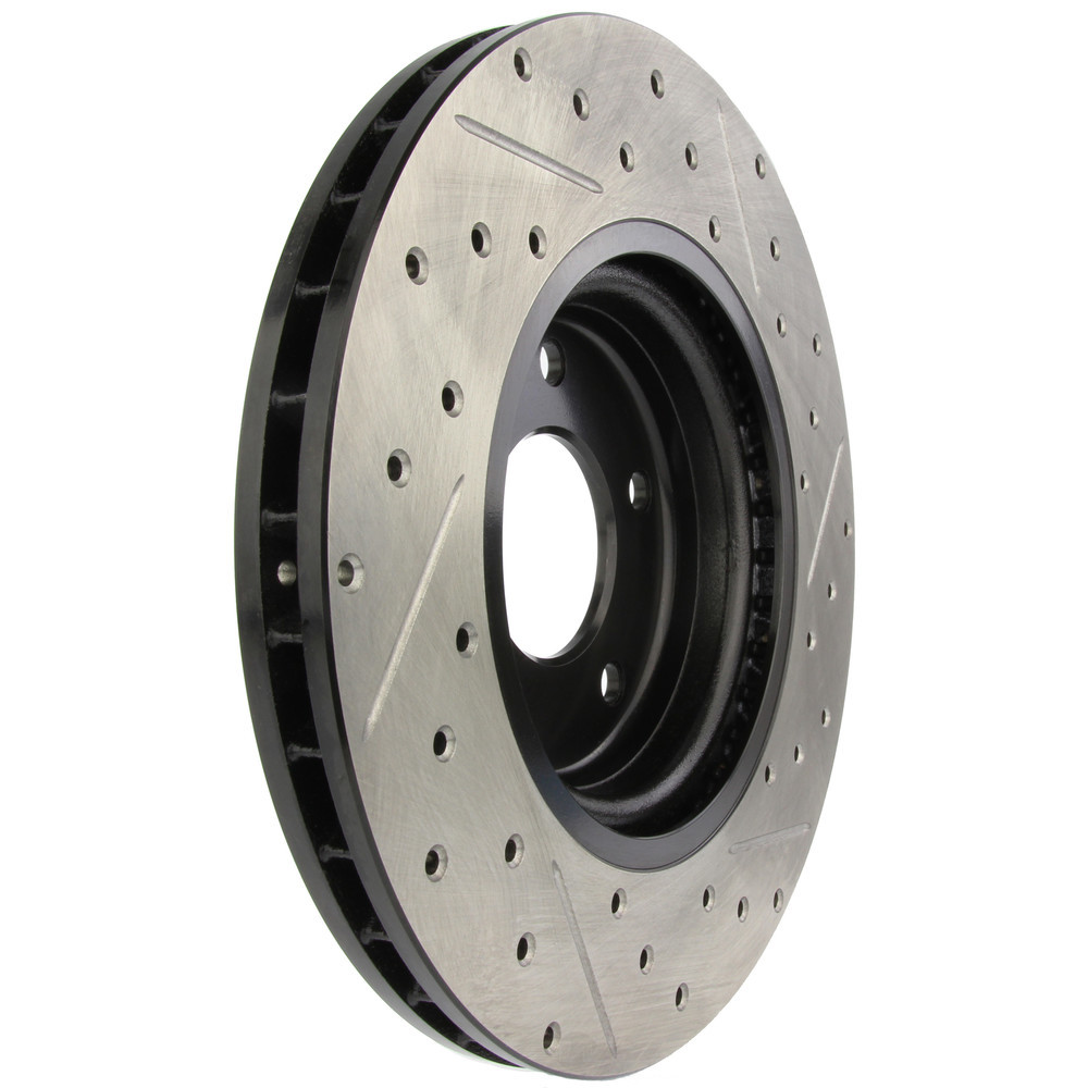 STOPTECH - StopTech Sport Drilled/Slotted Disc (Front Right) - SOH 127.20015R
