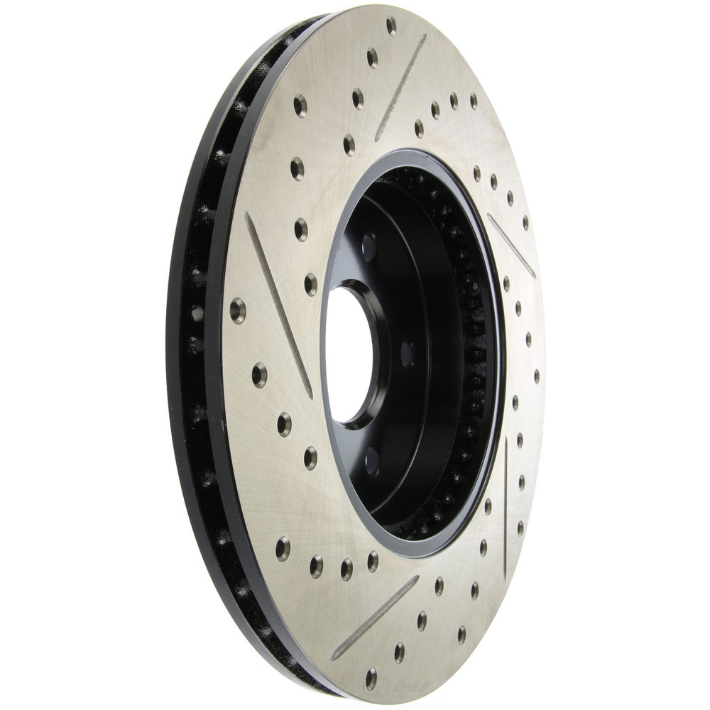 STOPTECH - StopTech Sport Drilled/Slotted Disc (Front Left) - SOH 127.20016L