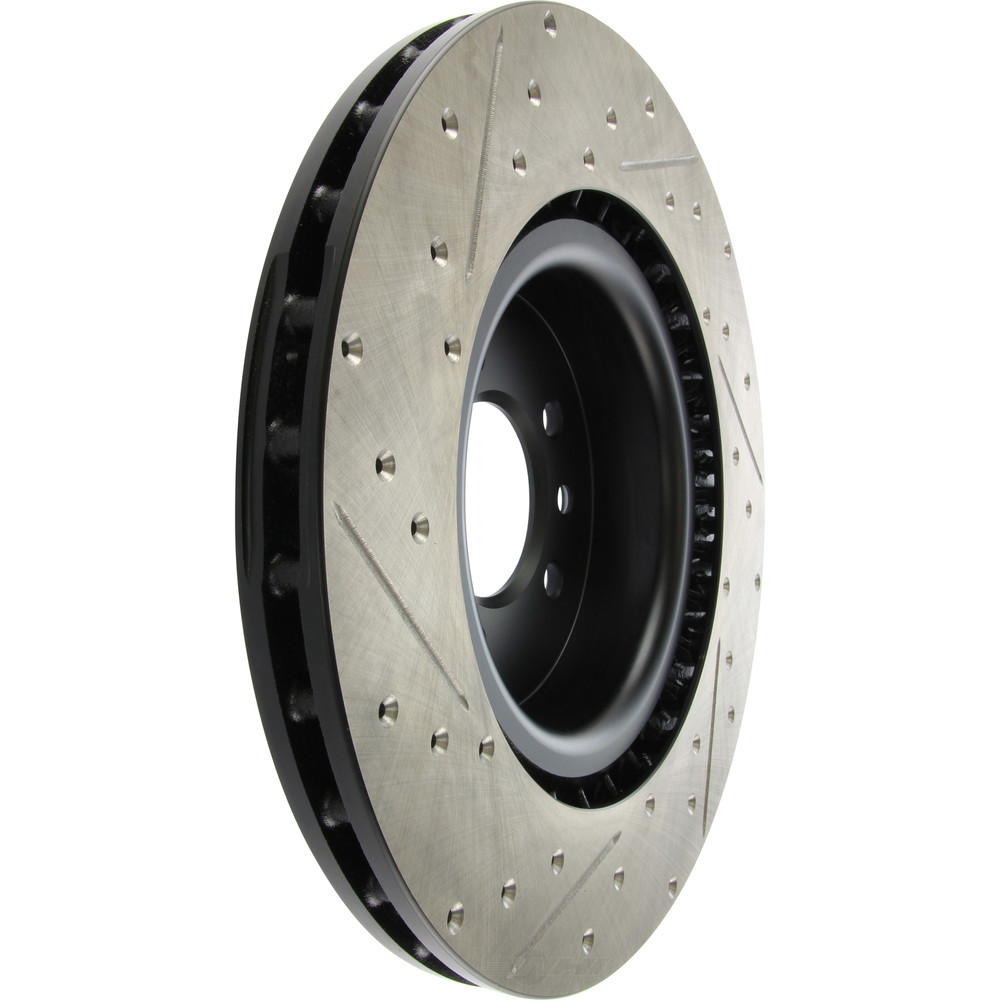 STOPTECH - StopTech Sport Cross-Drilled & Slotted Disc Brake Rotors - SOH 127.22011L
